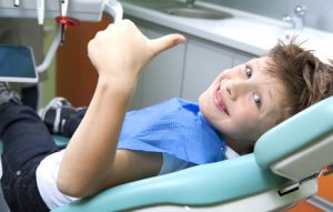 Young boy in a Oral Surgery in St. Paul